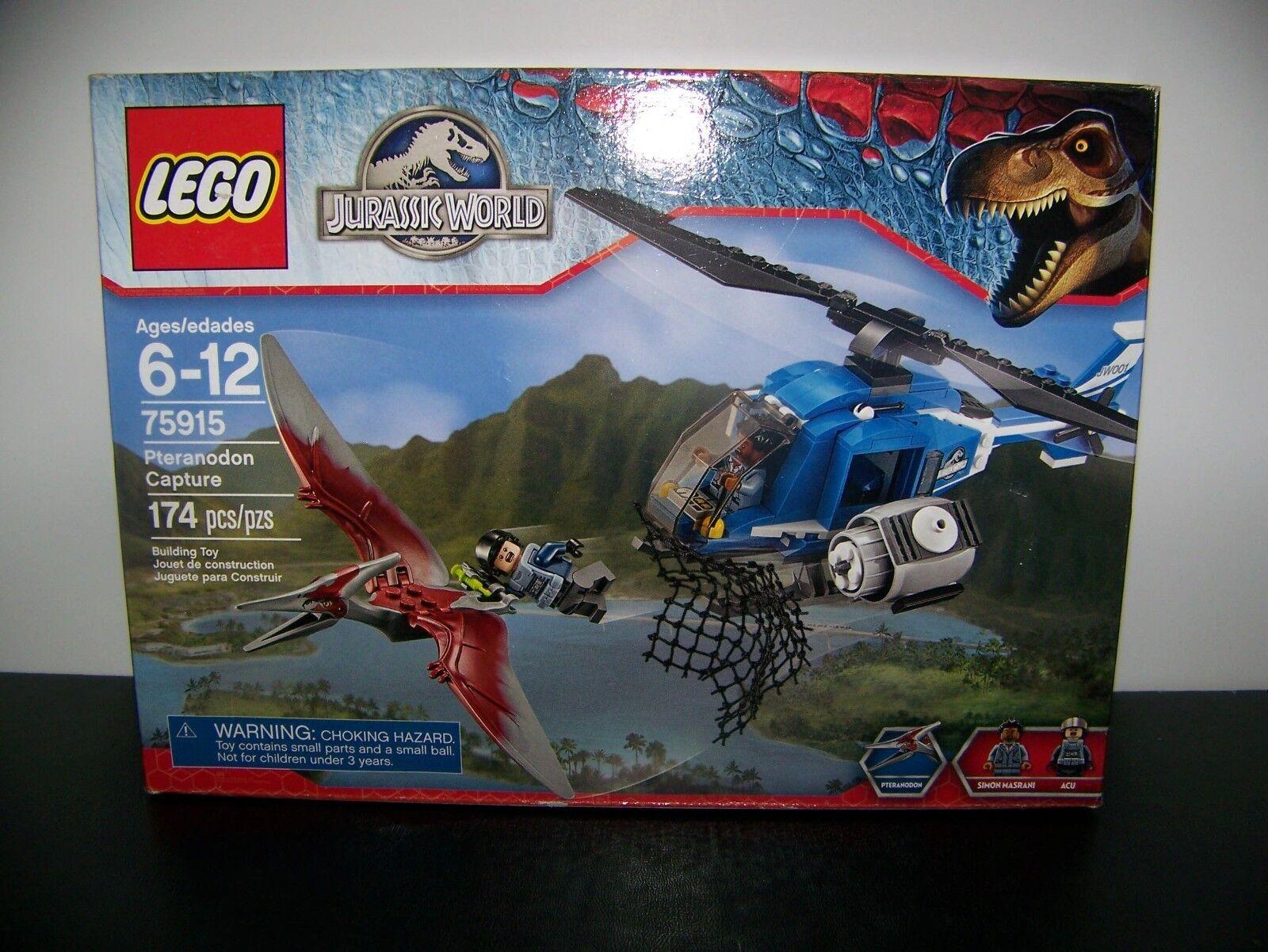 Lego Jurassic  World Pteranodon Capture 75915 2015 BRAND nouveau  limite acheter