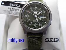 SEIKO  5  SNK805 GREEN Dial  SEIKO  Automatic  NEW SNK805-NEW