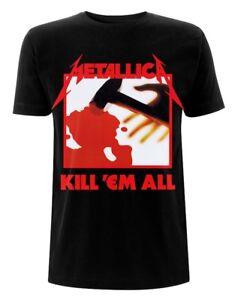 Metallica-039-Kill-Em-All-Tracks-039-T-Shirt-NEW-amp-OFFICIAL