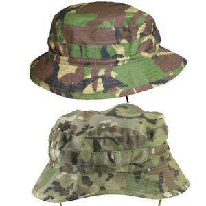 Pentagon Jungle Hat Ripstop Tactical Cadet Mens Patrol Bush Sunhat Grassman Camo