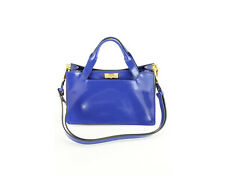New Authentic Marni Borsa Mano Women's Bag Blue Calf Leather Totes & Shoppers -