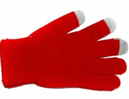 Windproof Thermal Gloves Women Warm Winter Touch Screen Mittens Knitting Men
