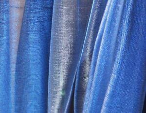 M24-Royal-Blue-Silver-Iridescent-2-Tones-Stretch-Mesh-Net-Fabric-Material