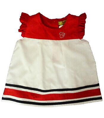 Camisas Niña De Caprichosa , Blanco ,talla 5