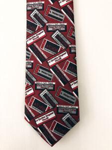 Men's Josh Bach NEW silk tie - Opera Tickets, Theater, Music , Mens Necktie