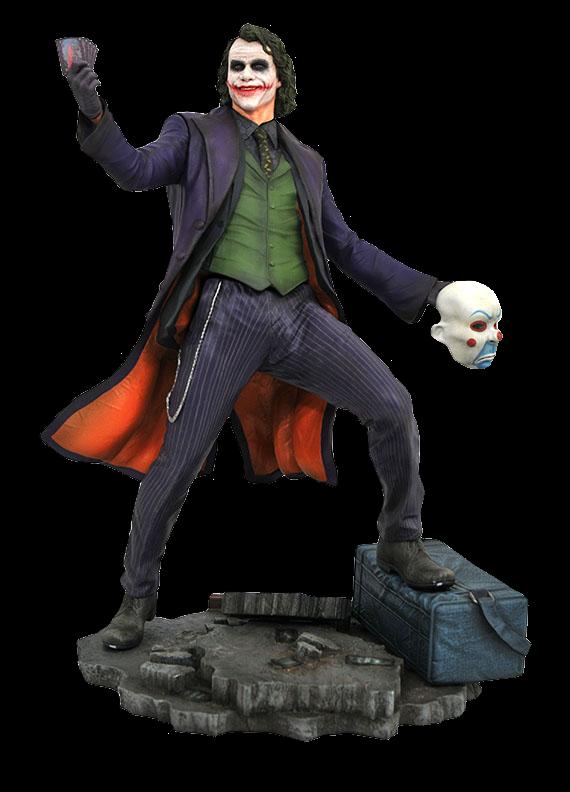 Batman The Dark Knight - The Joker DC Gallery 23 cm PVC Diorama Statue - limited