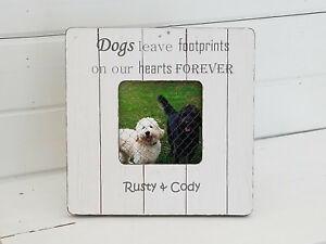 Personalized Pet Frames Pet Loss Gifts Pet Memorial Dog