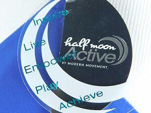 60f39929e3111 NWT Half Moon Active by Modern Movement Sports Bra Y62BM429 Blue White ( 36)