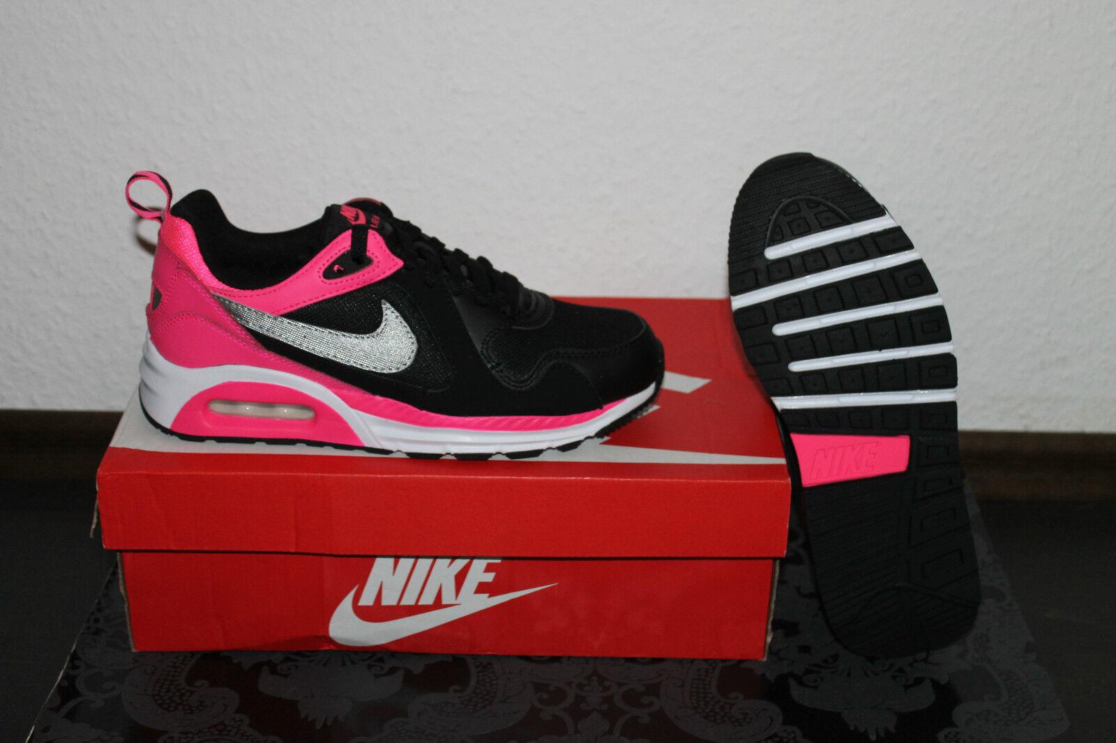 Nike Air Max Trax donna corsa scarpe nere fucsia argento taglia 36,5;38;38,5