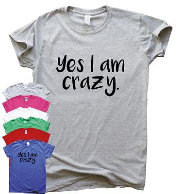 Di Carattere Dolce Sì Sono Pazzo Divertente T Shirt Umorismo Da Uomo Regalo Da Donna Sarcastico Tee Slogan Top-mostra Il Titolo Originale