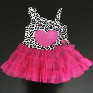 0533491c8 Image is loading Piper-Baby-12-months-animal-print-dress