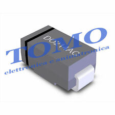 Lotto di 5 x diodi raddrizzatori Schottky SMD DO214AC tipo BYS10-45