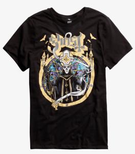 Ghost-SATANAS-SPES-NOSTRA-PAPA-EMERITUS-Metal-Band-T-Shirt-NEW-Official