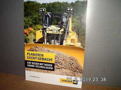 2019 Neuestes Design Caterpillar Dozer Mit Neuen Grade-technologien BroschÜre/prospekt 6 Seiten GroßE Vielfalt