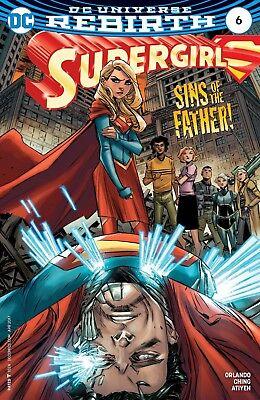 SUPERGIRL #6 NEAR MINT 2017 UNREAD DC COMICS bin-2017-7177