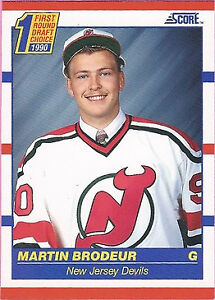 1990 Score Martin Brodeur 439 Hockey Card For Sale Online Ebay