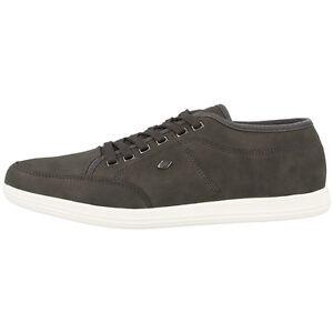 British-Knights-Poka-lo-zapatos-caballero-casual-zapatillas-dark-grey-b34-3609-01