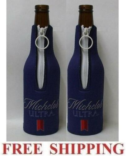 MICHELOB ULTRA 2 BEER BOTTLE SUIT COOLERS KOOZIE COOLIE HUGGIE BUD NEW