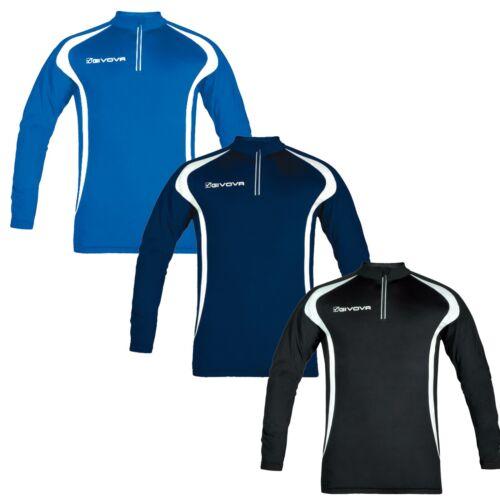 Offerta Sport Maglia Corsa Shirt Italia Home Running Shop Donna Long Uomo Givova qp0p4