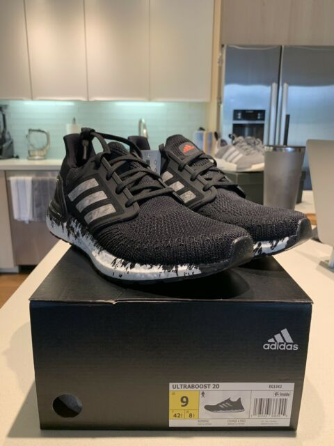 Size 9 - adidas UltraBoost 20 Marble 2020