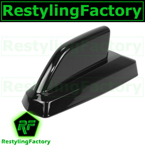 97-08 Ford F150+F250+Ranger Dummy Shiny Black Add-On Cab Shark Fin Antenna Cover