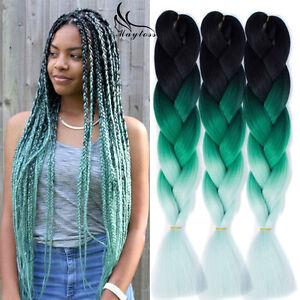 Image Is Loading 24 034 100g Jumbo Braiding Hair Three Tones