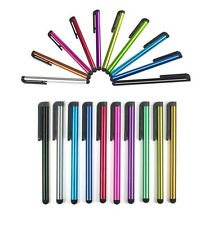 10 x Multi-Coloured Tablet, Smartphone, iPad, Note, Touch Screen Stylus Pens