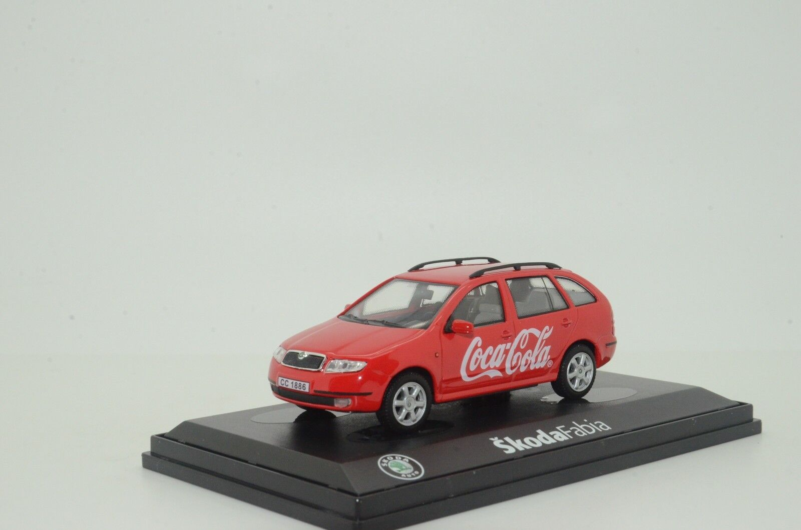 SKODA Fabia Coca Cola Abrex 1 43