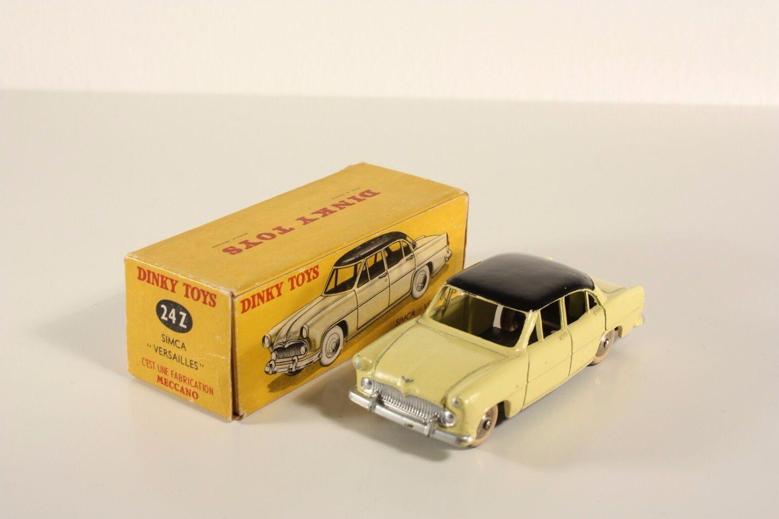 Dinky toys 24 Z, Z, Z, SIMCA VERSAILLES, Comme neuf in box #ab1777 | Attrayant De Mode  | Acheter  | Une Bonne Conservation De La Chaleur  433bcf