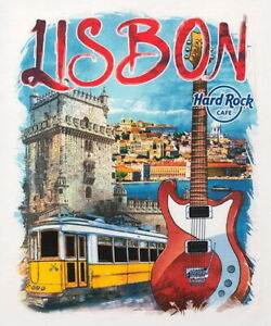 Hard-Rock-Cafe-LISBON-2016-City-Tee-White-T-SHIRT-2X-XXL-Men-039-s-New-with-Tags-V16