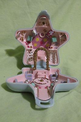 """Puppen Responsible Vintage Polly Pocket Blau Stern Kompakt Bluebird 1992 """" Polly Modischer Spaß """" Spielzeug"""