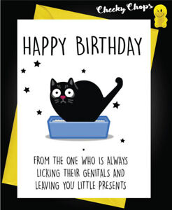 Image Is Loading Funny Rude Birthday Card Mum Dad Wife Friend