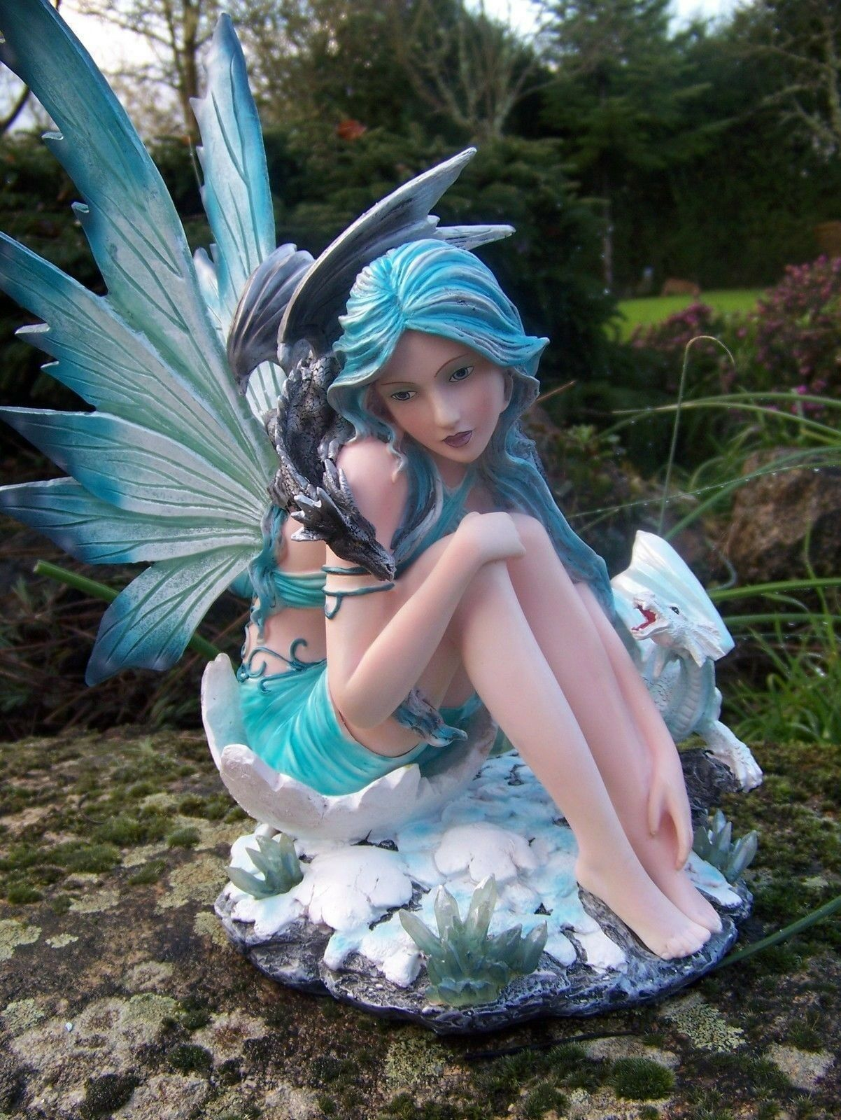 14354D   FIGURINE STATUETTE FEE ELFE FAIRY HEROIC FANTASY GM FATA FEES 40 %