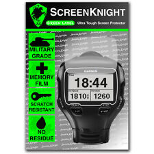 ScreenKnight Garmin Forerunner 910XT SCREEN PROTECTOR invisible military shield