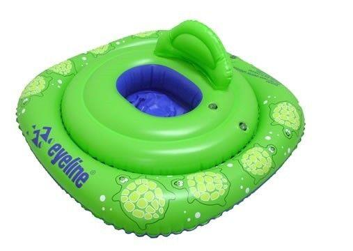 Learn to Swim Eyeline TURTLE SWIM SEAT inflatable 6-12 Month Infant Seat EYSST