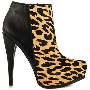 8ae1ad7dc08a1b CIRCUS BY SAM EDELMAN Jacey Leopard Calf Hair Leather Platform Ankle ...