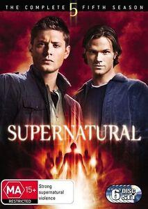 Supernatural-Season-5-DVD-6-Disc-Set-R4-Series