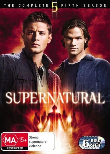 Supernatural : Season 5 (DVD, 6-Disc Set) NEW