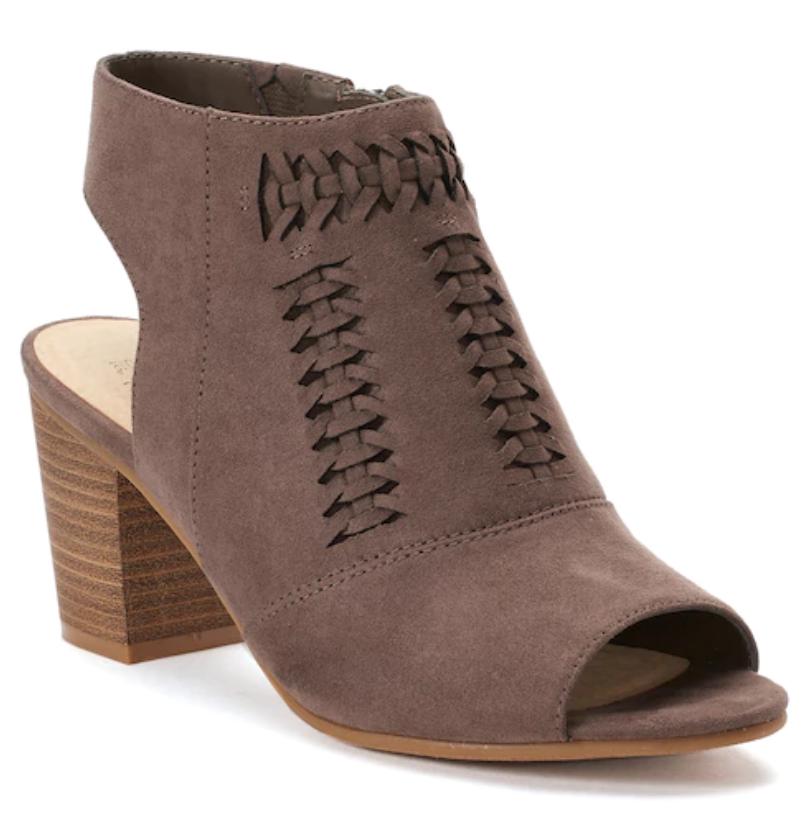 Ausverkauf Nwt Damen Sonoma Goods For Life Honoria Stiefeletten Schuhe Pilz