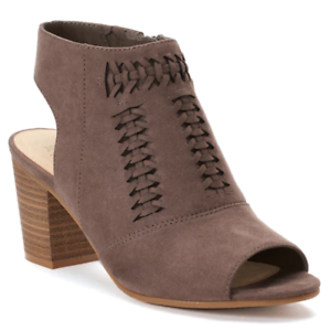NWT Women/'s SONOMA Goods for Life Honoria Ankle Boots Shoes Mushroom SALE!!