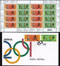 2004 OLYMPIC SUMMER GAMES 2050a women's football --- SHEET  CV$25