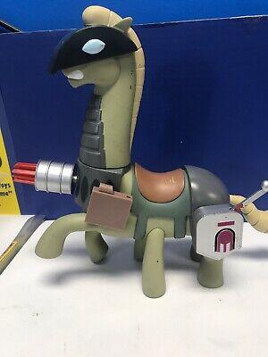SAMURAI JACK Battle Armor WAR HORSE Action figure Cartoon Network 14cm