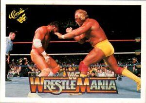Details about 1990 Classic WWE WWF #95 Hulk Hogan Randy