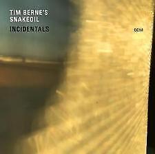 Incidentals [Slipcase] Tim Berne's Snakeoil/Berne (CD, Aug-2017, ECM) Brand New