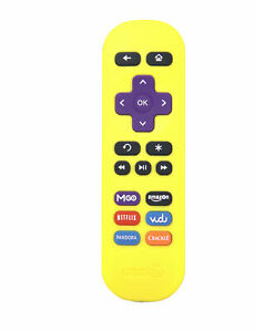 Amaz247 ARCBZ01 Replacement Remote for Roku Streaming Player - Yellow
