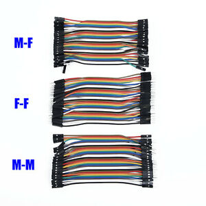 120Pcs-Mixed-M-M-M-F-F-F-11cm-Dupont-Wire-Jumper-Cable-For-Arduino-Breadboard