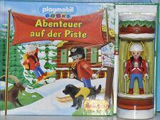 """Playmobil books """"aventura en la piste"""" con Playmobil-personaje, rareza, nuevo"""
