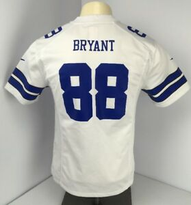 01a9ab62cb6 Authentic Nike NFL Dallas Cowboys Dez Bryant #88 Mesh White jersey ...