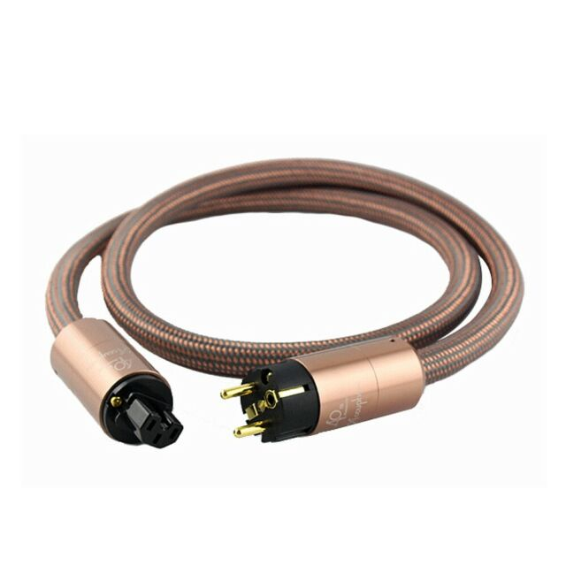 EU ver  AC power cable power cord 2M HIFI  Accuphase 40th Anniversary Edition