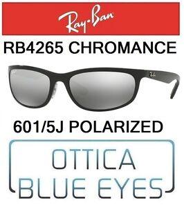 9f327fe097 Occhiali da Sole RAYBAN RB 4265 601 5J CHROMANCE Sunglasses Ray Ban ...